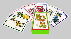 ビンゴカード(トランプサイズ)