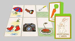 マッチングカード(トランプサイズ)